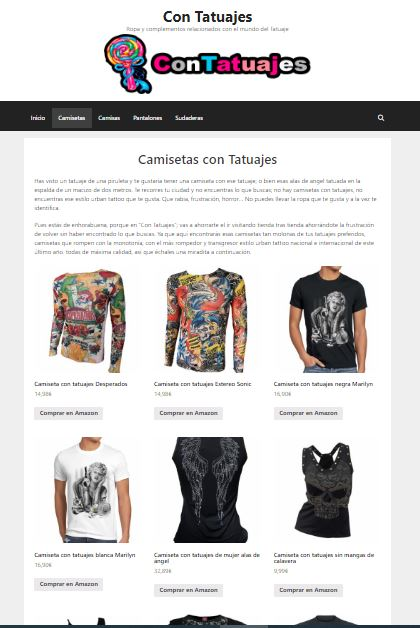 Primera página de google. Con Tatuajes realizad por Arsenal Multimedia para Formación y Ciberseguridad en las nuevas tecnologías - FormCiberSeg.