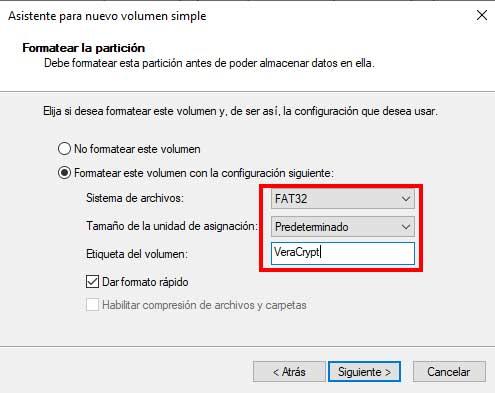 """Dar formato a la partición en """"Hacer particiones en una memoria USB"""""""