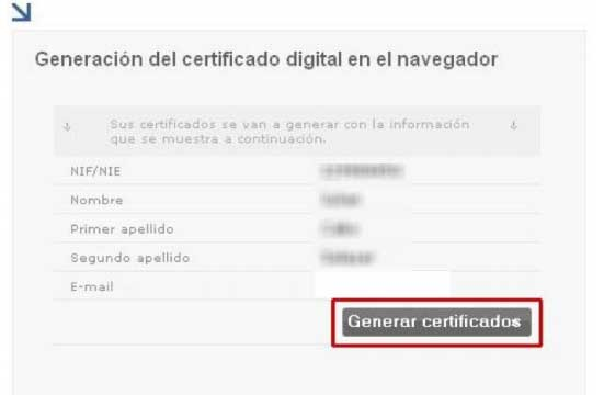 Generar certificado digital para firmar y cifrar correos electrónicos