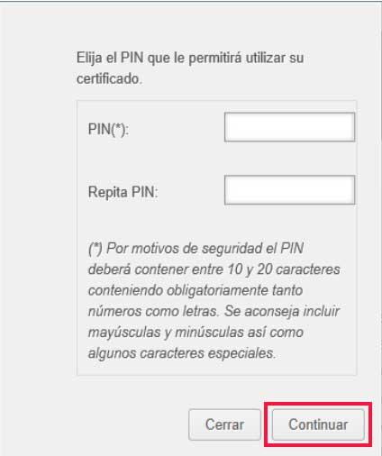 Poner pin de seguridad generando un certificado digital para firmar y cifrar correos electrónicos