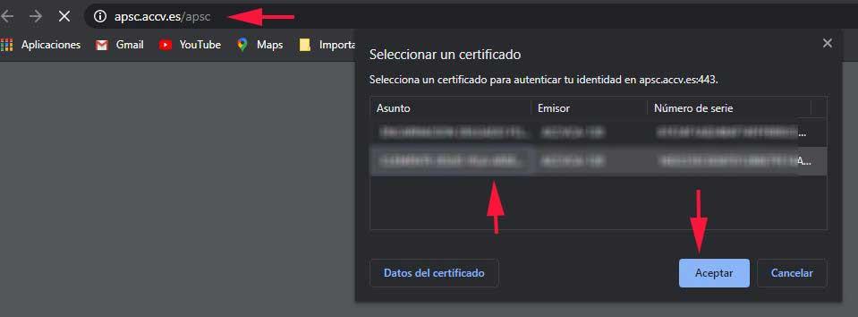 Comprobación de validez en el navegador
